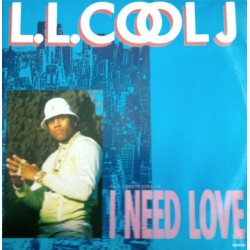LL Cool J ‎– I Need Love - Maxi Vinyl 12 inches
