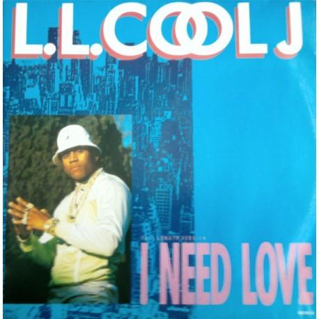 LL Cool J – I Need Love - Maxi Vinyl 12 inches