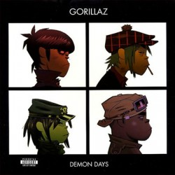Gorillaz ‎– Demon Days - Double LP Vinyl