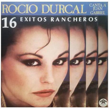 Rocio Durcal - Canta A Juan Gabriel - 16 Exitos Rancheros - LP Vinyl Album