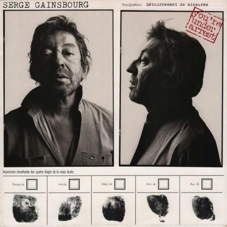 Serge Gainsbourg – You're Under Arrest - LP Vinyl Album