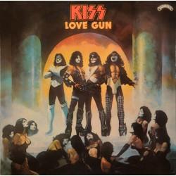 Kiss – Love Gun - LP Vinyl Album - Coloured Red