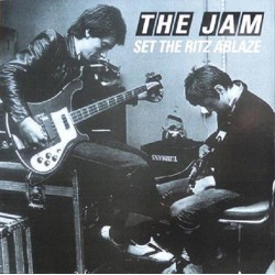 The Jam ‎( Paul Weller  )– Set The Ritz Ablaze - LP Vinyl Album