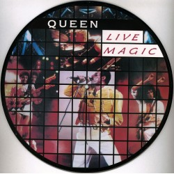 Queen ‎– Live Magic - LP Vinyl Album - Picture Disc
