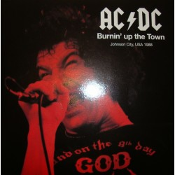 AC/DC ‎– Burnin´up the Town - Double LP Vinyl - Coloured Clear