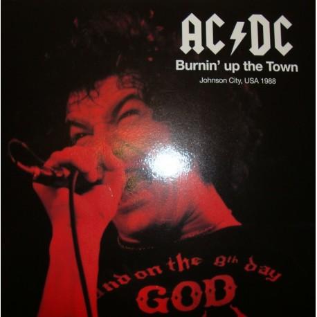 AC/DC – Burnin´up the Town - Double LP Vinyl - Coloured Clear