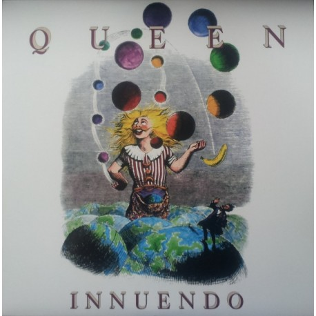 Queen – Innuendo - LP Vinyl Album - Coloured