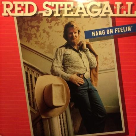 Red Steagall – Hang On Feelin' - LP Vinyl Album