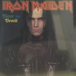 Iron Maiden ‎– Blaze No Brasil - LP Vinyl - Coloured Green