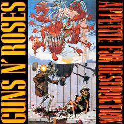 Guns N' Roses – Appetite For Destruction - LP Vinyl Album - Coloured Edition