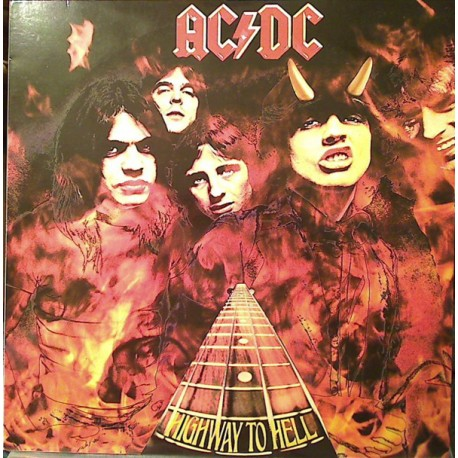 AC/DC – Highway To Hell - LP Vinyl bum - Coloured Edition