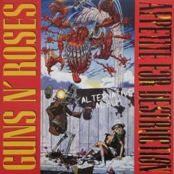 Guns N' Roses – Appetite For Destruction Alternative Album - LP Vinyl Album Coloiured