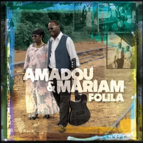 Amadou & Mariam ‎– Folila - LP Vinyl Album + CD