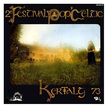 2ème Festival Pop Celtic Kertalg 73 - Double LP Vinyl Album