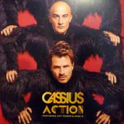 Cassius Featuring Cat Power & Mike D ‎– Action - Maxi Vinyl 12 inches