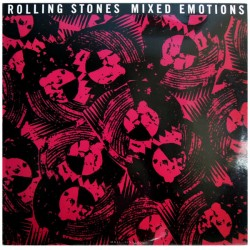The Rolling Stones ‎– Mixed Emotions - Maxi Vinyl 12 inches
