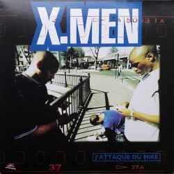 X.Men - Diable Rouge ‎– J'Attaque Du Mike - L'Homme Que L'On Nomme Diable Rouge - LP Vinyl
