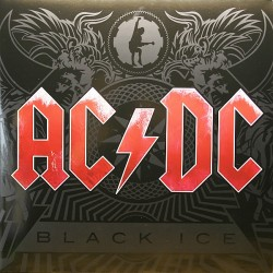 AC/DC ‎– Black Ice - Double LP Vinyl Album - pochette Gatefold