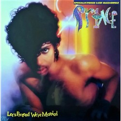 Prince ‎– Let's Pretend We're Married - Maxi Vinyl 12 inches