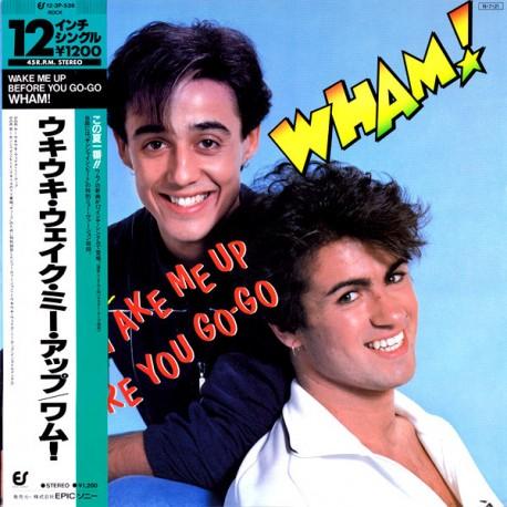 Wham (George Michael) – Wake Me Up Before You Go-Go - Maxi Vinyl 12 inches Japan + Obi