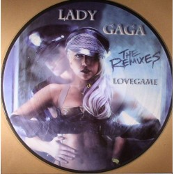 Lady Gaga ‎– Lovegame - The Remixes - Maxi Vinyl 12 inches - Picture Disc