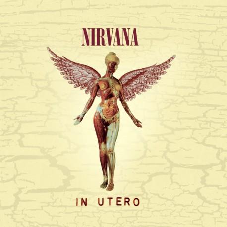 Nirvana – In Utero - LP Vinyl Album - Limited Edition - Coloured - Poster an Lyrics
