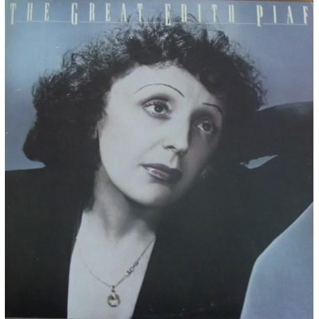 Edith Piaf – The Great Edith Piaf - LP Vinyl Album - Venezuela