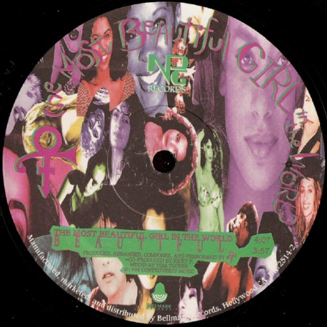 The Artist (Prince) - The Most Beautiful Girl In The World - Maxi Vinyl 12 inches