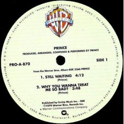 Prince ‎– Still Waiting - Sexy Dancer - Maxi Vinyl 12 inches