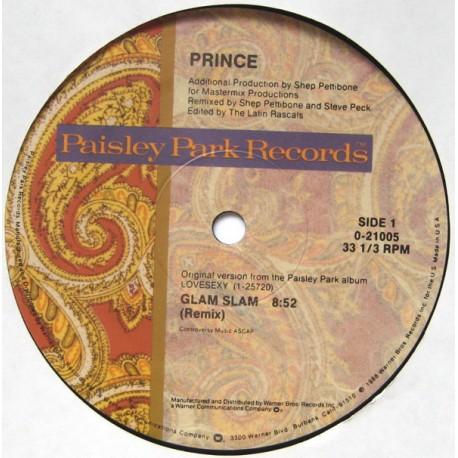 Prince – Glam Slam - Maxi Vinyl 12 inches USA Pressing