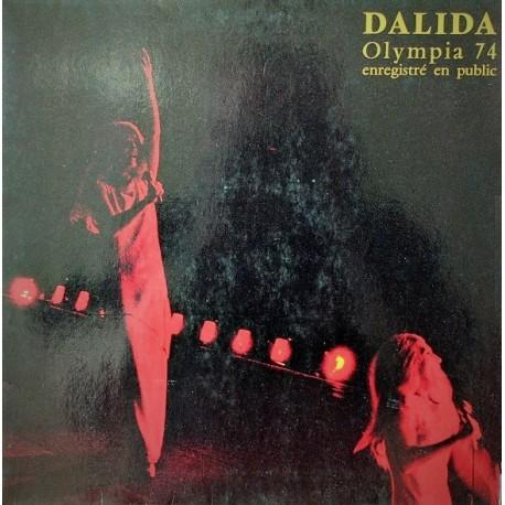 Dalida – Olympia 74 Enregistré En Public - LP Vinyl Album Gatefold