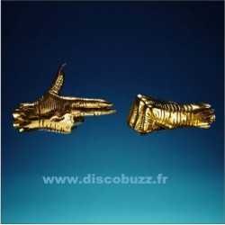 Run The Jewels - Run The Jewels 3 - Double LP Vinyl - Coloured Gold with Gold Pendant Edition