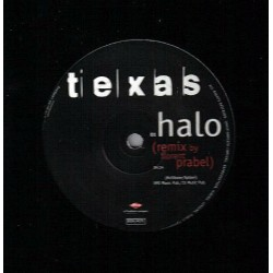 Texas ‎– Halo - Maxi Vinyl 12 inches - Promo France