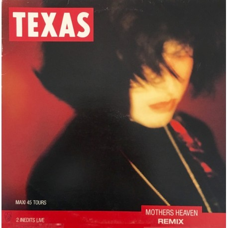 Texas – Mothers Heaven - Maxi vinyl 12 inches promo - Limited