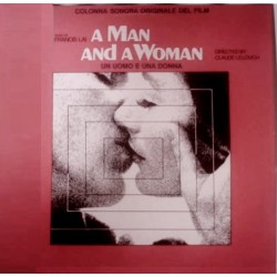 Musique de Film - A Man And A Woman - Francis Lai - LP Vinyl Italian Press