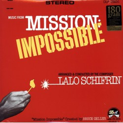 Musique de Film - Lalo Schifrin ‎– Mission Impossible - LP Vinyl