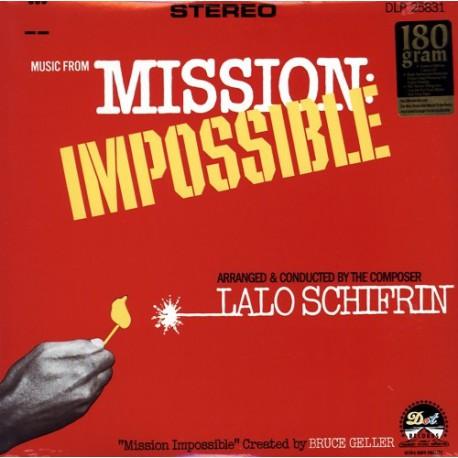 Musique de Film - Lalo Schifrin – Mission Impossible - LP Vinyl