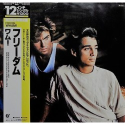 Wham ‎(George Michael) ‎– Freedom - Long Version - Maxi Vinyl 12 inches - Japan Press
