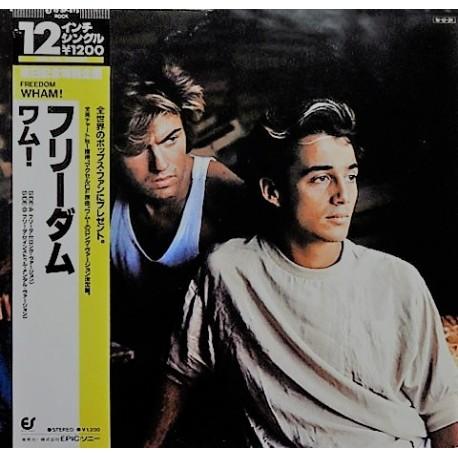 Wham (George Michael) – Freedom - Long Version - Maxi Vinyl 12 inches - Japan Press