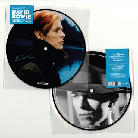 David Bowie - Sound and Vision - 40th Anniversary - 7 inches Picture Disc Collector