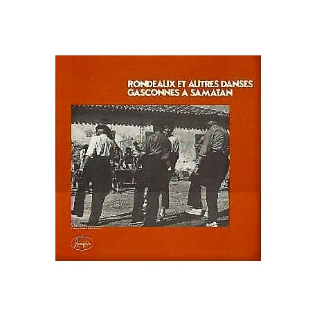 Rondeaux et Autres Danses Gasconnes à Samatan - Compilation Folk Music - Perlininpin Folc - LP Vinyl Album