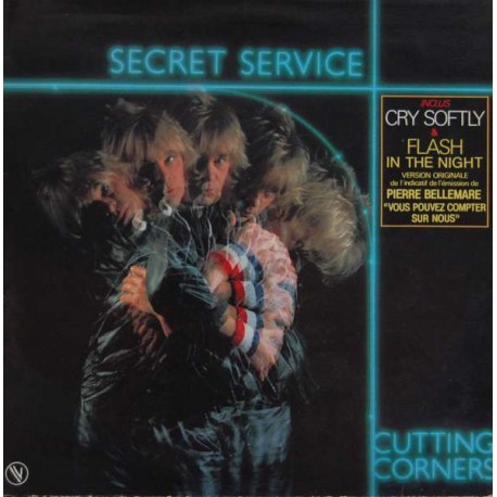 Secret Service ‎– Cutting Corners - LP Vinyl Album