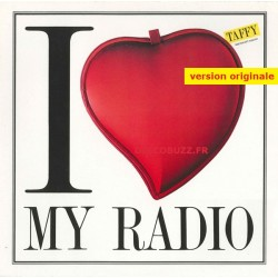 Taffy ‎– I Love My Radio -Midnight Radio - Maxi Vinyl 12 inches