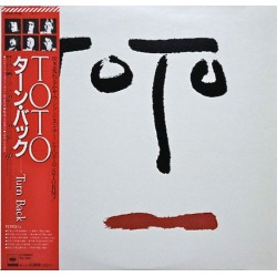 Toto ‎– Turn Back - LP Vinyl Album + Obi + Gatefold Poster - Japan Press
