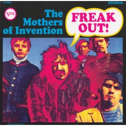 The Mothers Of Invention ( Frank Zappa ) ‎– Freak Out! - LP Vinyl Album