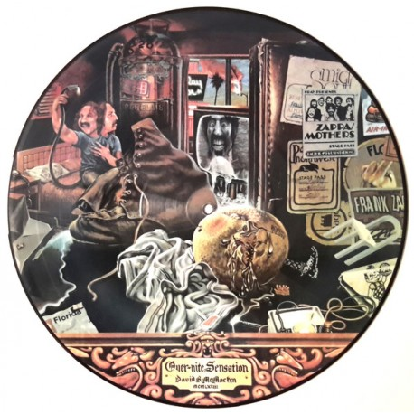 Frank Zappa And The Mothers – Over-nite Sensation - LP Vinyl Picture Disc