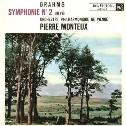 Brahms, Orchestre Philharmonique De Vienne, Pierre Monteux Symphonie N°2 En Ré - LP Vinyl Album