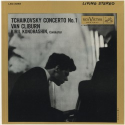 Tchaikovsky - Van Cliburn, Kiril Kondrashin – Concerto No. 1 - LP Vinyl Album