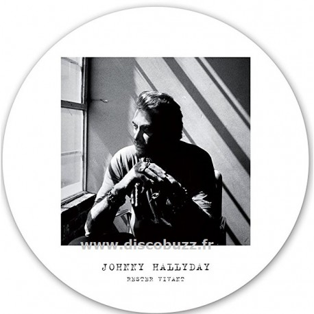 Johnny Hallyday – Rester vivant - Picure Disc Collector - Limited Edition - LP Vinyl Album
