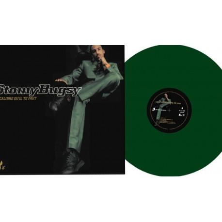 Stomy Bugsy – Le Calibre Qu'il Te Faut - Double LP Vinyl Coloured Vert